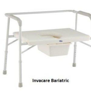 invacare bariatric commode