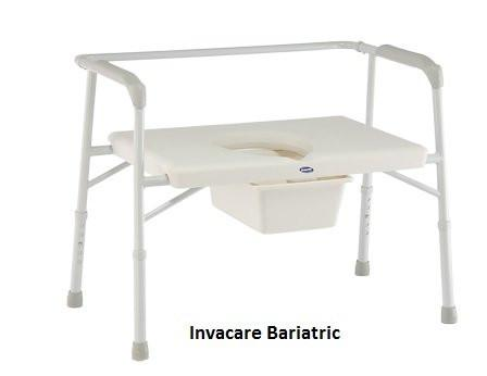 invacare bariatric commode