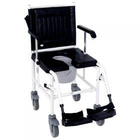 steel mobile commode