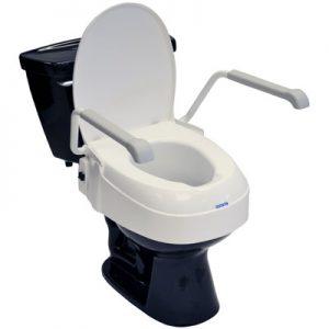 ToiletSeatRaiserwithLid&Armrests